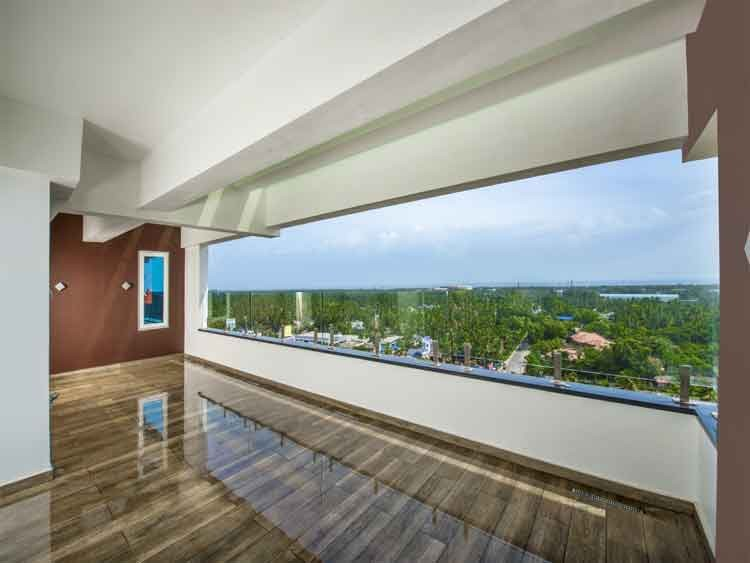 Sea Face New Brand Posh Pent House for sale Opposite Lulu Mall, Trivandrum