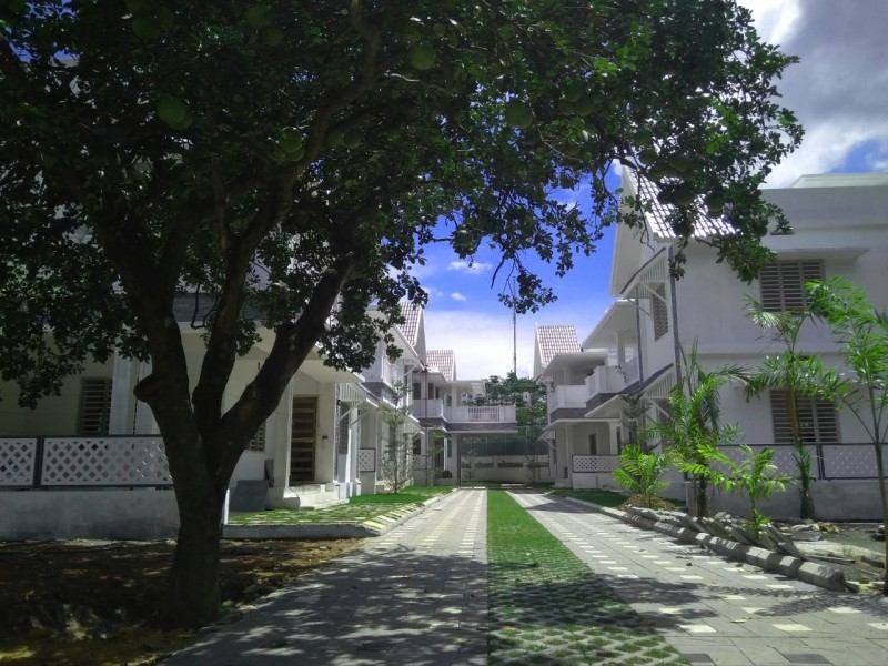 Gated Villas For Sale behind JN Interernational Stadium, Kaloor,Ernakulam