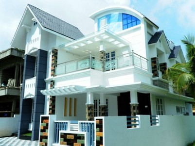 Posh Double Storied Villa for sale at Thirumuppam,Varappuzha,Ernakulam.