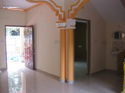 1700 Sqft 4 BHK Double Storied House on 5 cents of land for sale at Peyad, Kollamkonam,Trivandrum.