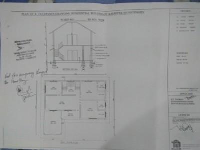2650 sq ft independent villa in 12 cent plot for sale at Kalpetta, Wayanad.