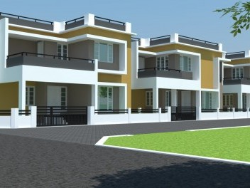 Cool Homes - Ready to occupy Villas for sale at Aluva,Ernakulam District.