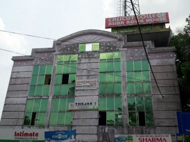 9600 Sq.ft Commercial Building with 5500 Sq.ft Apartment on 21cents of land  for sale at Thodupuzha,