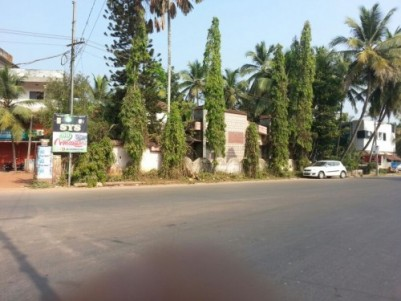 15 Cents of Prime Commercial Land  for sale at Cheruvathur,Kasargod.