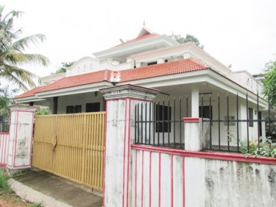 2850 Sq.ft 3 BHK Double Storied House for sale at Chengannur,Alappuzha.