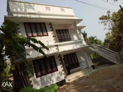 Newly built house upstairs for rent at Ayyanthole, Thrissur