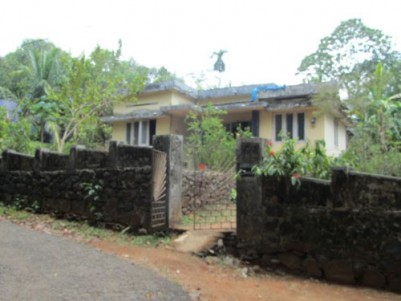 40 Cents of land with 1000 Sqft 2 BHK House  for sale at Kavinpady,Manarcad,Kottayam.