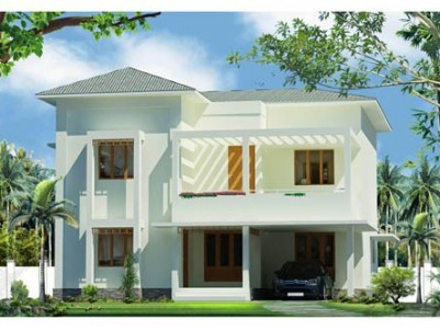 NEW FURNISHED VILLA FOR SALE AT KOORKANCHERRY,THRISSUR.