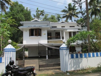 2800 Sq.ft 4 BHK Villa on 21 Cent land for sale at Varappuzha,Ernakulam.