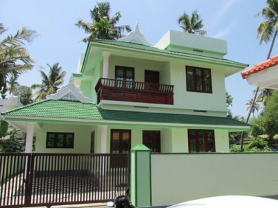 1500 Sqft 4 BHK House for sale at North Paravoor,Ernakulam District.