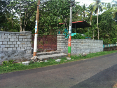 24.5 Cents of Orginal land for sale  Behind Old Kappela in Chevoor,Thrissur.
