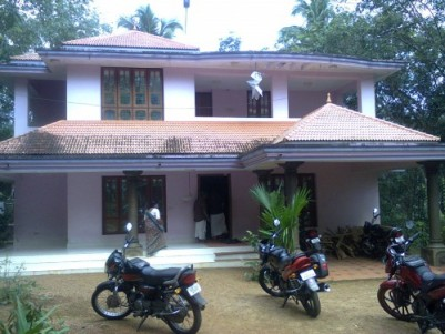 20 cents of land with 4bhk double storied house FOR IMMEDIATE SALE