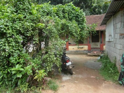 10 Cents with old House for sale at Varissery,Kottayam.