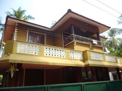 1550 Sqft 3 BHK House on 4 Cents of land for sale at Pavangad,Kozhikode.