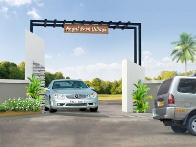 Royal Palm Village - Premium House plots Near Chalakkudy,Thrissur.