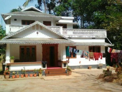 1500 sq.ft house with 38 cents of land.6 kms from shoranur and ottapalam