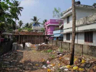 6.5 Cent House Plot for sale at Thrippunithura,Ernakulam.