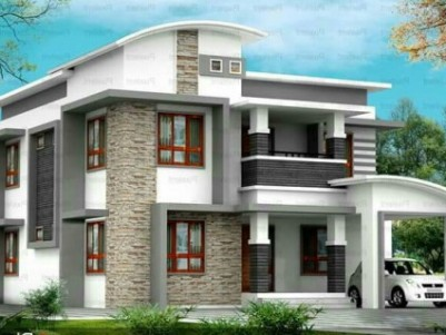 2400 Sqft 4 BHK House on 6 cents of land  for sale at Nedumbassery, Ernakulam District.