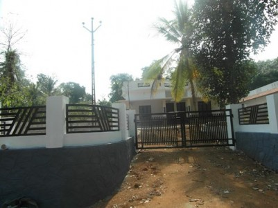2000 Sq.ft 3 BHK House  on 14 cents of land for sale at Kummannoor,Kottayam.