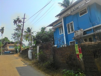 9.5 Cents of Commercial land with an old House for sale in Kozhikode.