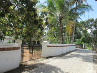Classy house with land for sale at Kumarakom, Kottayam.