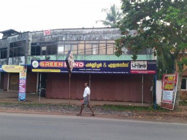 Prime NH (Calicut- Kannur) frontage commercial property for rent