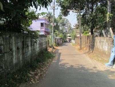 9.5 Cent land for sale at Manjummel, Ernakulam.