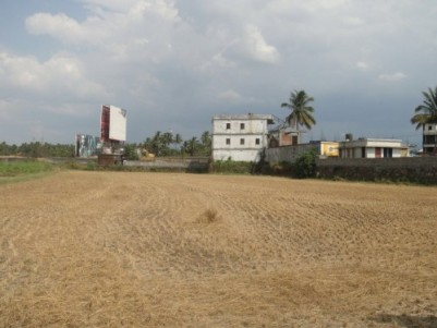 1.21 acres for sale in Vadakkencherry NH 47 Road Side, Palakkad.