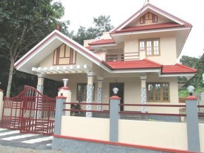 1900 Sq.ft 4 BHK Villa on 7.25 Cent land for sale at Manarcaud,Kottayam.