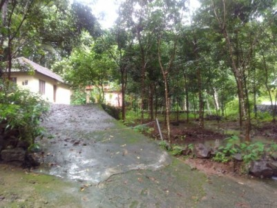 Land + House for sale in Vakayar, Konni