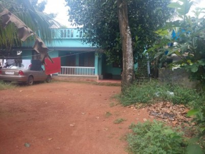 11.5 cent land and 3bhk house