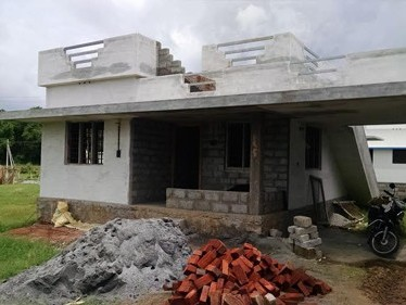 900 Sqft new House on 4.25 cents of land for sale at Elappully,Palakkad.