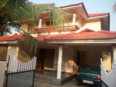 4 bedroom double story house with 10 cent for sale in Nilambur opposite to Peeves Residential school