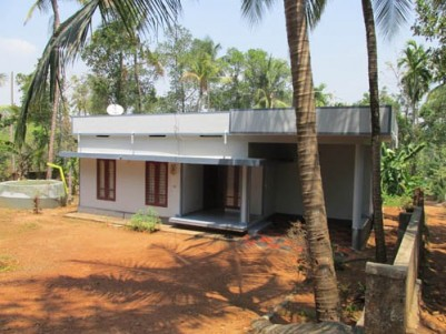 1500 Sqft  3 BHK House on 20 Cents of land for sale at Mala, Thrissur.