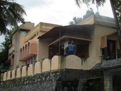 79 Cents land with 3 BHK House for sale at Punalur,Kollam.