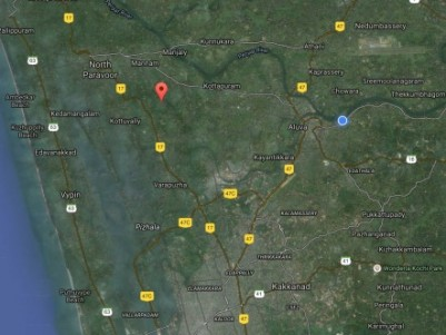 52 Cents of Commercial cum Residential land for sale at Thathapilly,Ernakulam.