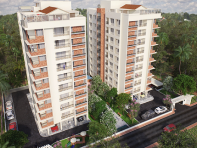 Asvatha Hermitage - Lifestyle Apartments at Chalikkavattom,Ernakulam.