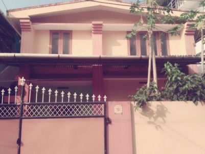 Two Storey House in Fort Kochi City Kerala