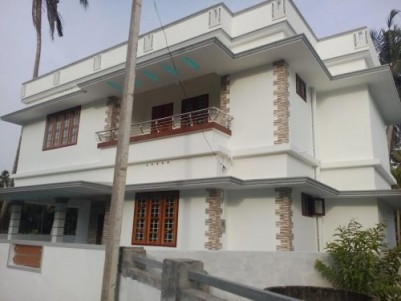 1300 Sqft  3 BHK House on 4 cents of land for sale at Amballur,Ernakulam District.