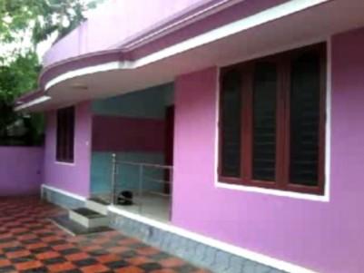 3 BHK,Common Bath room, Single stoied,4.3 Cent,good residential area, 1.5 Km form Technopark, Arasum