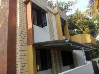 1100 Sqft 3 BHK on 3 Cent House For Sale at Cheranalloor, Ernakulam