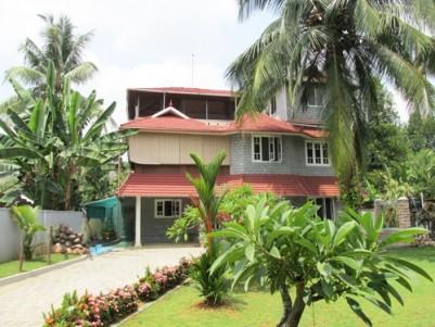 Beautiful Three Storey 5 Bedrooms House for sale at Aluva,Ernakulam