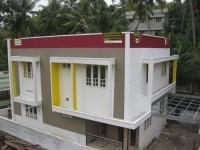 2000 Sqft 4 BHK Contemporary Luxury Villa for sale at Mannanthala,Thiruvananthapuram District.