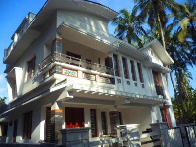 2300 Sqft 4 BHK House for sale at Pavangad,Kozhikode.
