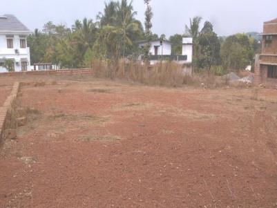 18 cents house plot sale for at Vilayamkode, Pariyaram, Kannur.