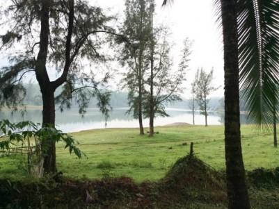 Water Front Resort Plots for sale at Kakkayam,Kozhikode.