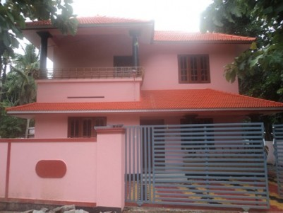 1400 Sqft 3 BHK House on 4.5 cents of land for sale Chathannoor,Kollam.