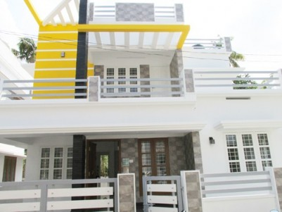 1400 Sq:Feet 3 BHK Villa on 3 Cents Land For Sale at  Varapuzha ,Ernakulam .