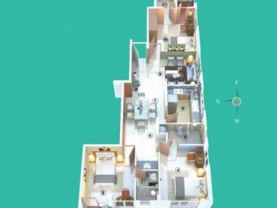 Siddhi Enclave - 2,3,4 BHK apartments in Maradu, Ernakulam.