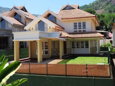 Water front premium luxury furnished villa for sale at Muttom,Idukki .